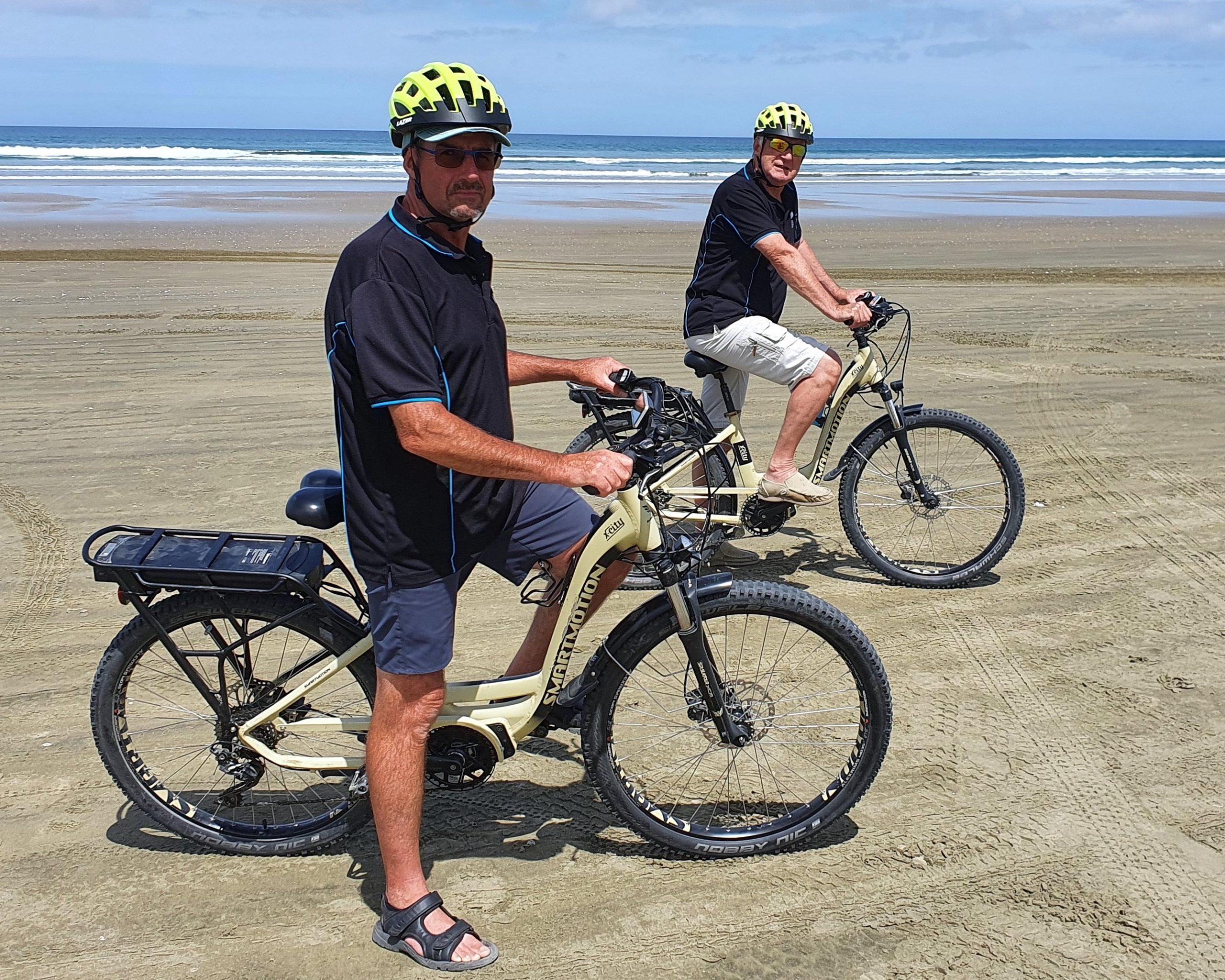 Ebikes on 90 mile beach